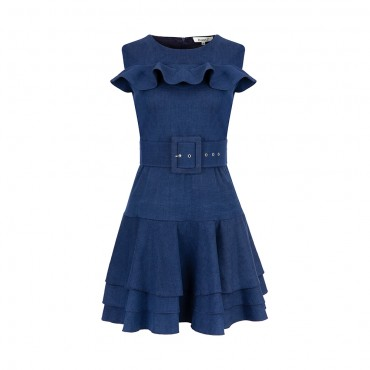Denim Hermes Dress...