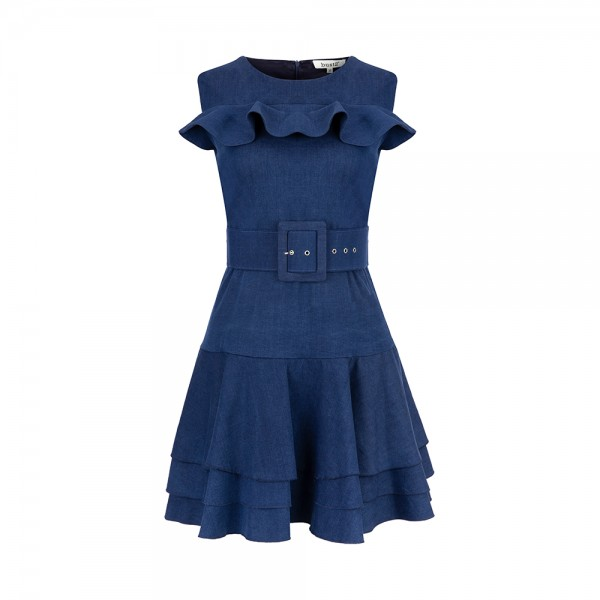 Denim Hermes Dress